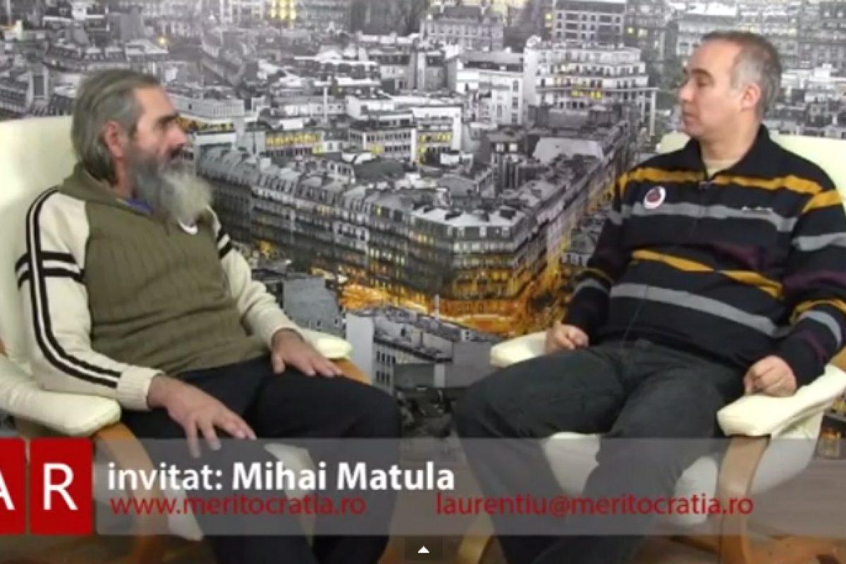 Meritocratia 27.02.2015 invitat Mihai Matula