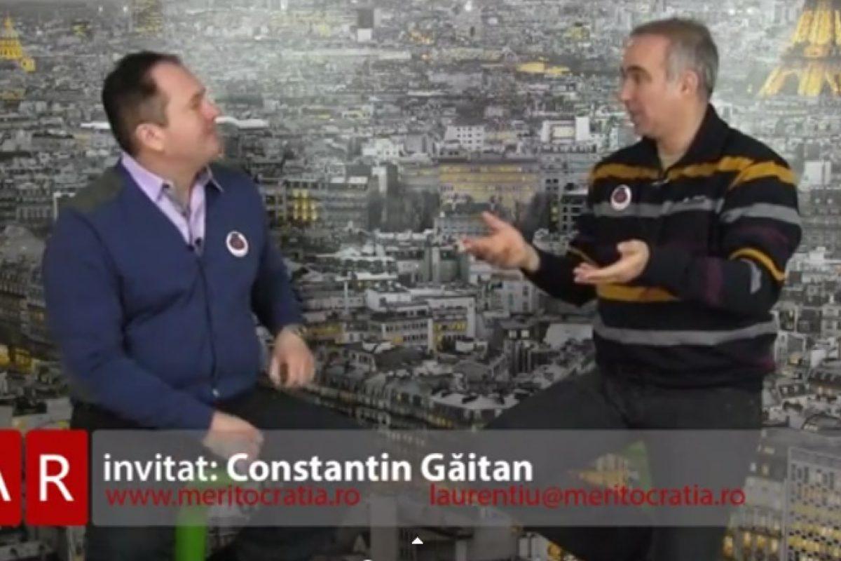 Meritocratia 28.02.2015 invitat Constantin Găitan
