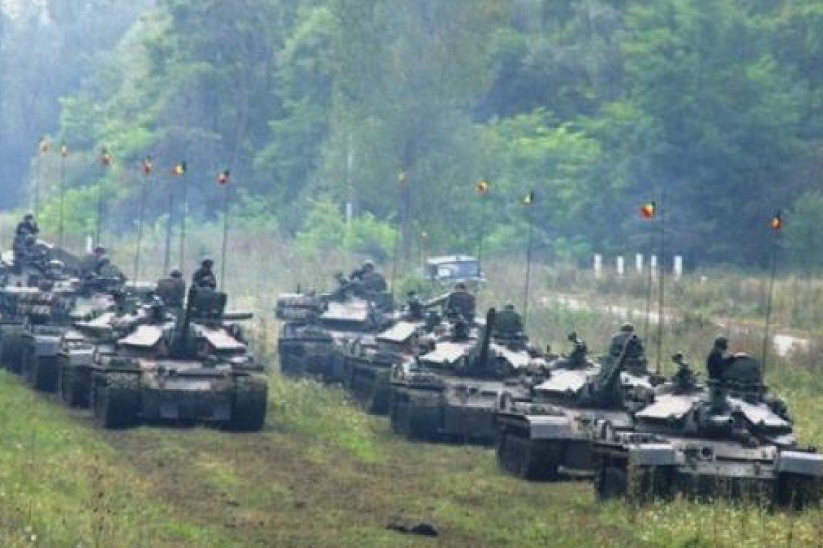 Americanii baga tancurile in Romania