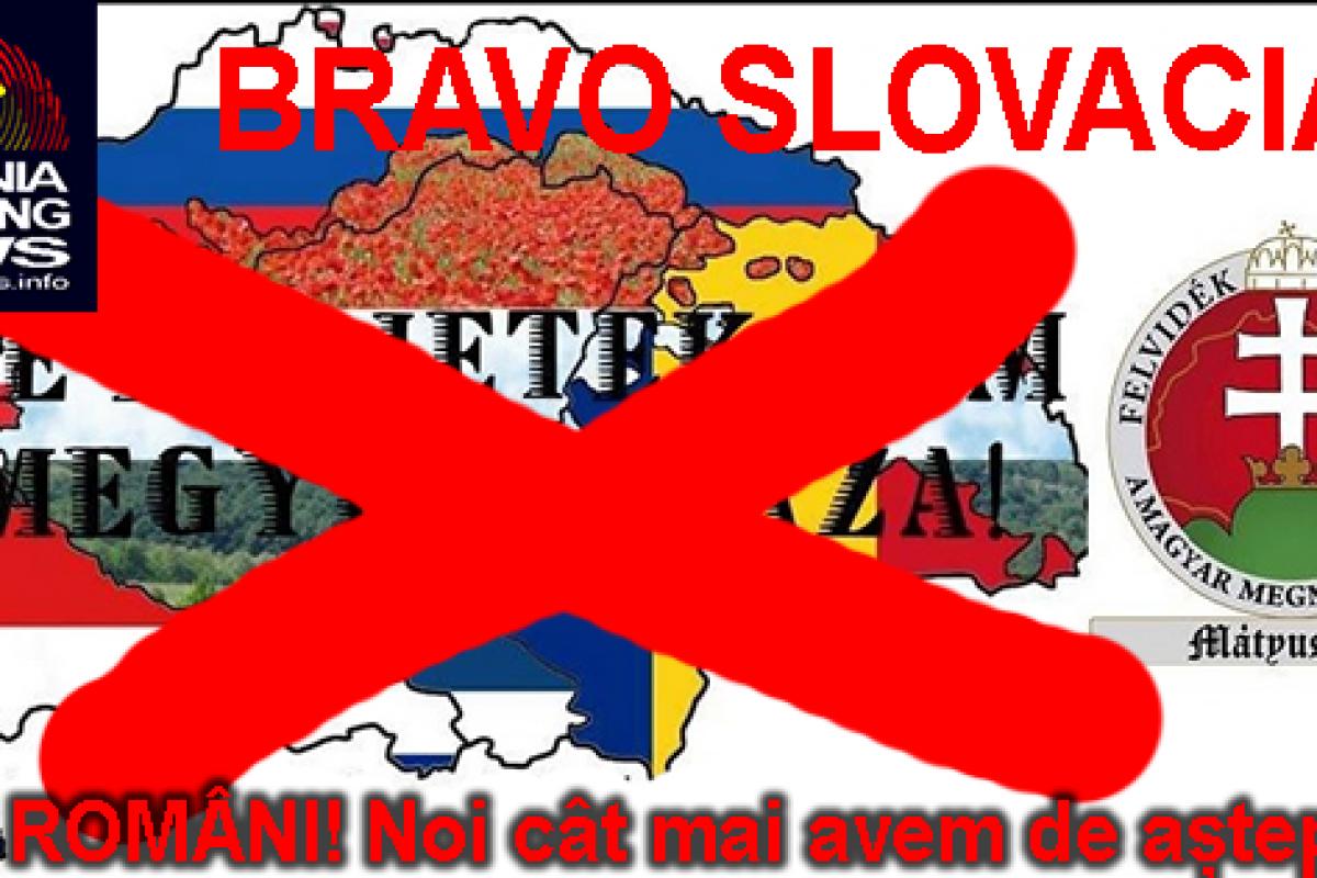 Frați Români! Slovacia VS Iredentismul Maghiar, o lecție de demnitate națională!