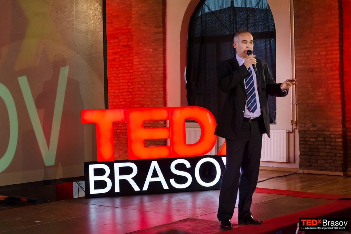 Laurentiu Primo invitat la TEDx Brașov
