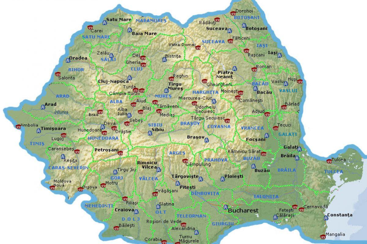 Cum au evoluat graniţele României.