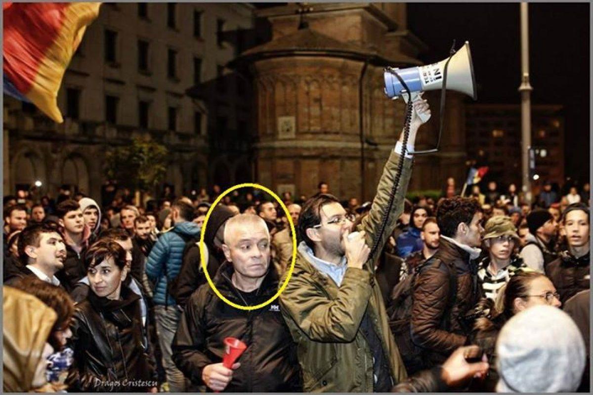 Claudiu Crăciun, un diversionist printre protestatari
