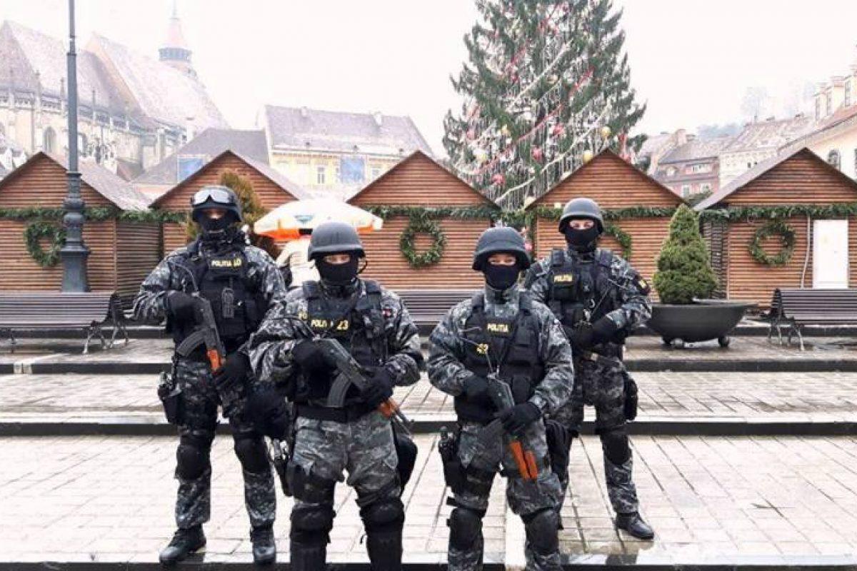 România sub ASEDIU ! Sute de mascați patrulează cu armele la vedere în marile orașe. Trupele speciale au fost trimise pe străzi să ne apere de …?