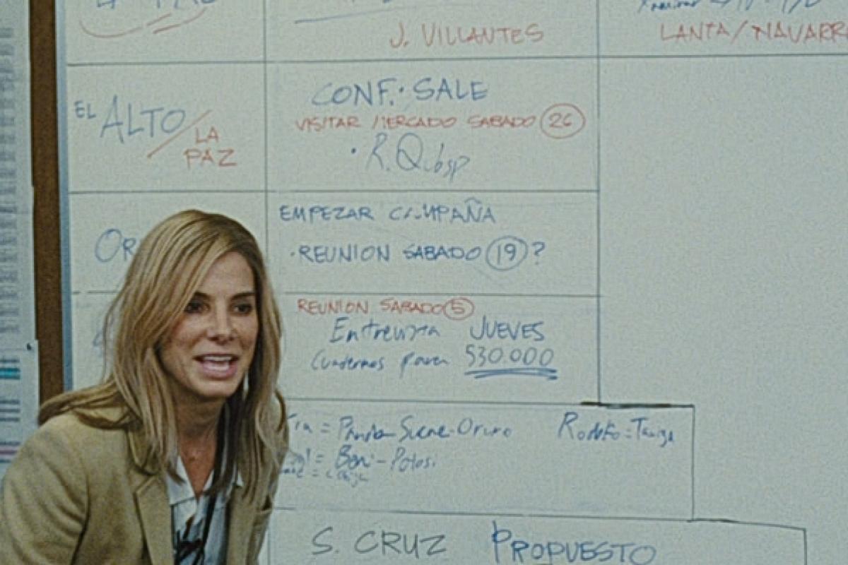 …si Sandra Bullock in rolul lui Tal Silberstein