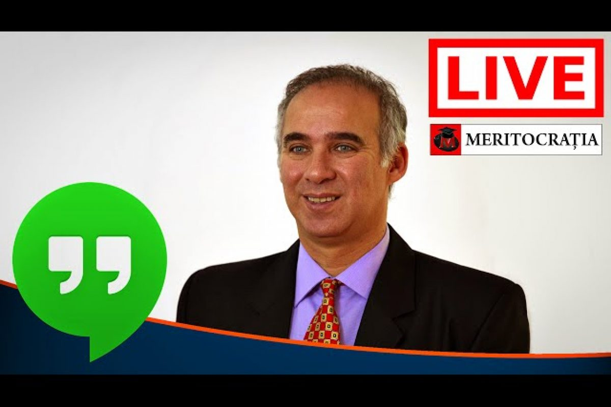 Interviu #LIVE cu Laurențiu Primo – Mișcarea meritocratică
