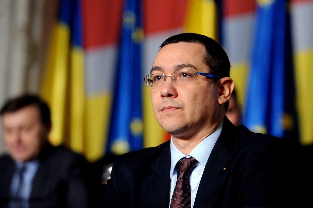 Ponta, atac la partidul lui Nicușor Dan