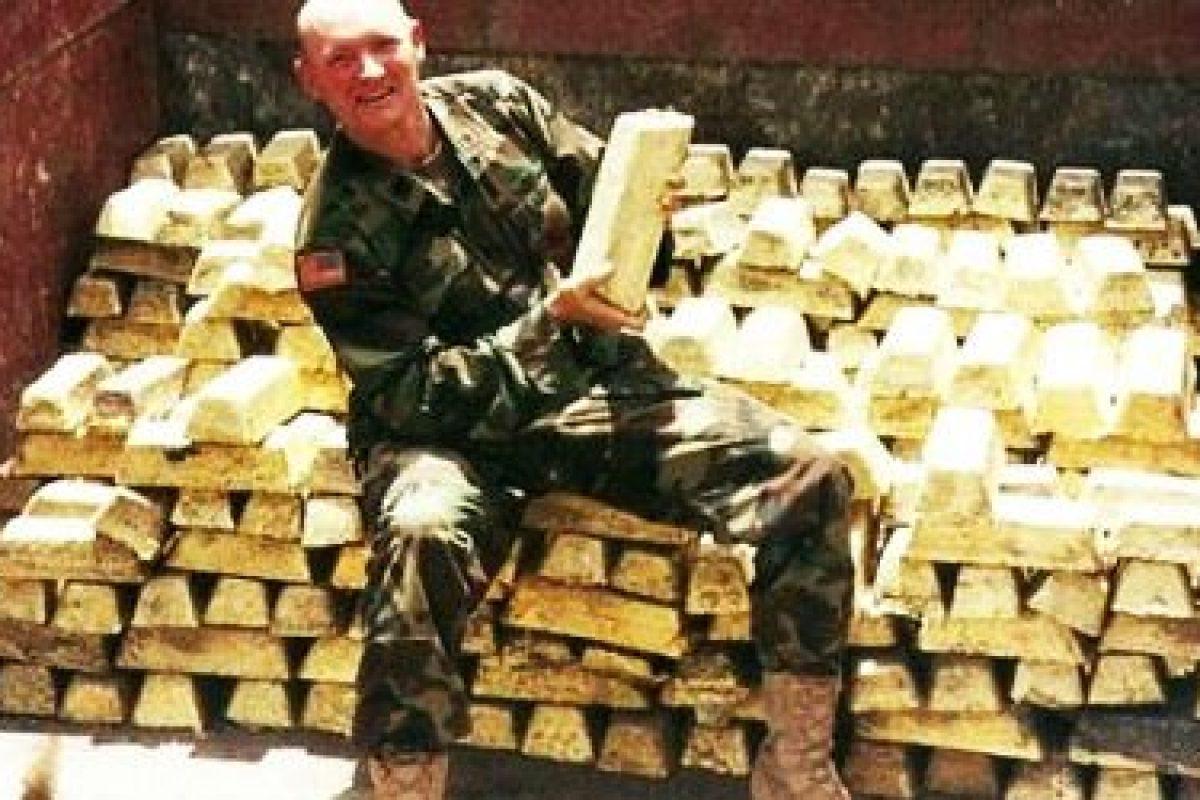 Armata SUA a furat tone de aur în timpul războiului din Irak
