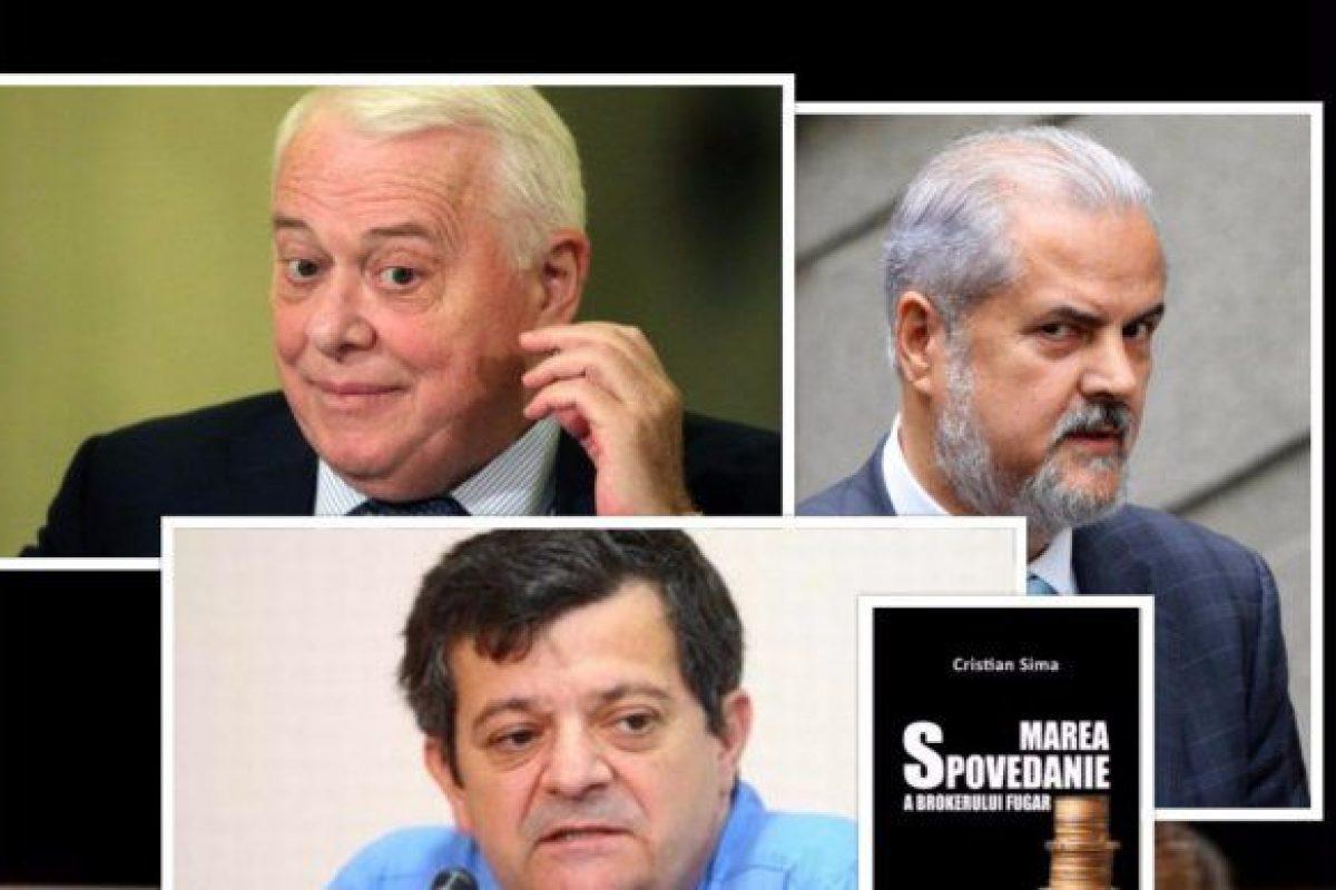 Brokerul Cristian Sima: Năstase și Hrebenciuc au furat un miliard de euro și i-au pitit prin băncile din afara țării