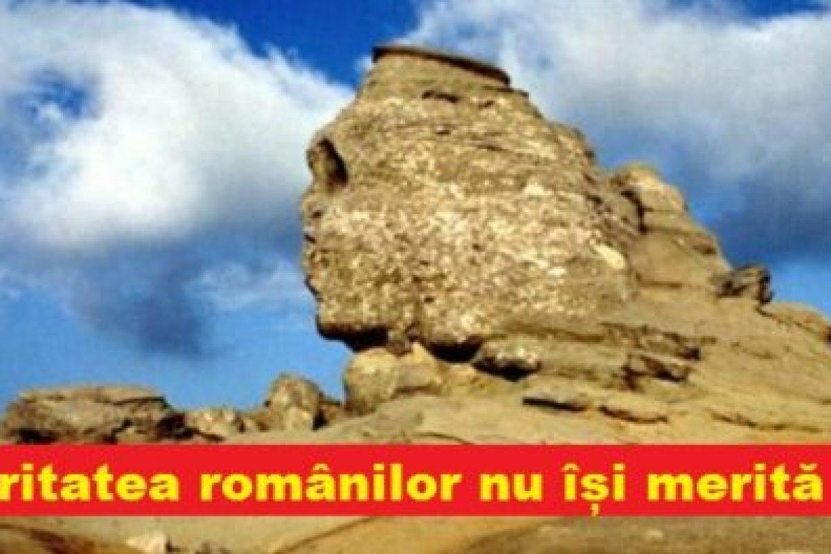 Majoritatea românilor nu își merită țara! Astăzi, o populație stupidă și o armată de politicieni corupți au distrus tot ce ne-au lăsat înaintașii…