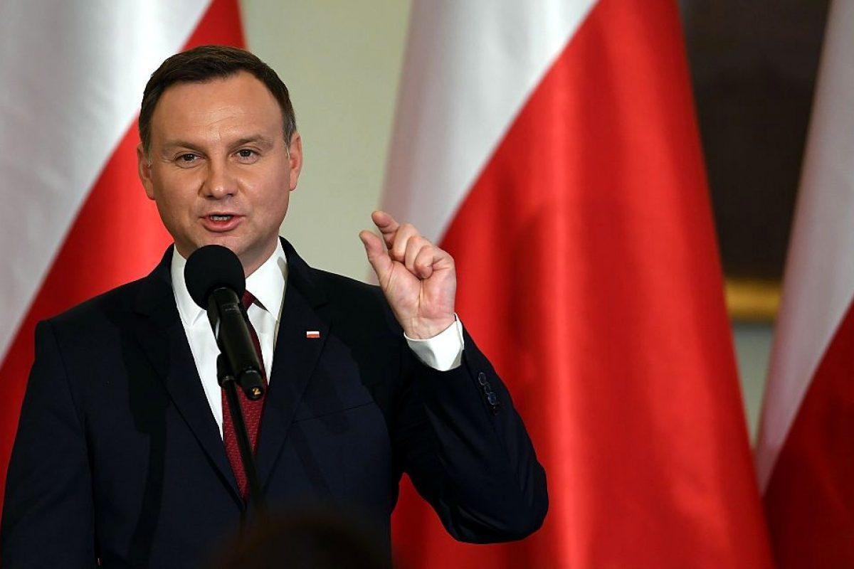 Președintele Poloniei Andrzej Duda: Polonia nu va legaliza NICIODATĂ căsătoriile gay